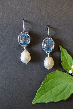 Drop Earrings, Jewelry, Style, Fashion, Pearls, Jewelry Gifts, Gemstones, Silver, Handarbeit