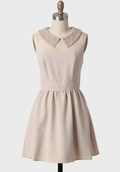 cute dress add a jacket and its even cuter