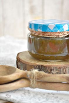 Mermelada de Berenjena   CON HARINA EN MIS ZAPATOS Sweet Cooking, Goodies, Chutneys, Queso, Banana Jam, Canning Recipes, Spices And Herbs, Jelly, Sweet And Saltines