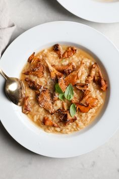 Chanterelle Risotto /