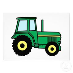 tractor clipart color page - Google Search