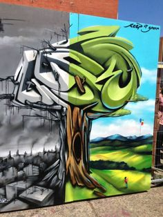 Grafitti Art by ZASE