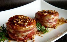 """""""Il pranzo della domenica""""- secondi piatti- filetto di maiale con pancetta, glassato al miele - ScrivoLibero.it"""