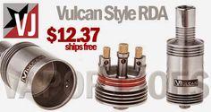 Vapor Joes - Daily Vaping Deals: PRICE DROP: VULCAN STYLE RDA - $12.37