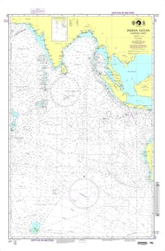 NGA Chart 73: Indian Ocean-Eastern Part