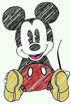 Disney Mickey Mouse, Mickey Mouse Tumblr, Minnie Mouse Drawing, Mickey Drawing, Mickey Mouse Sketch, Mickey E Minnie Mouse, Mickey Mouse Drawings, Fiesta Mickey Mouse, Disney Drawings Sketches