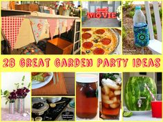 28 Great Garden Party Ideas