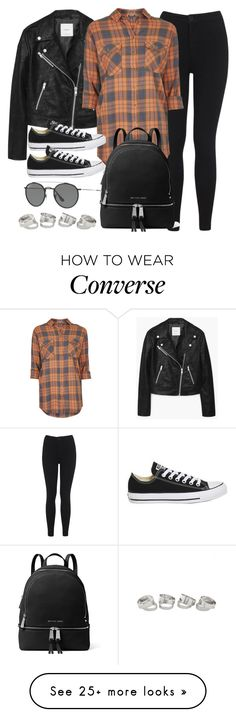 """Sin título #12085"" by vany-alvarado on Polyvore featuring MANGO, Miss Selfridge, Topshop, MICHAEL Michael Kors and Ray-Ban"