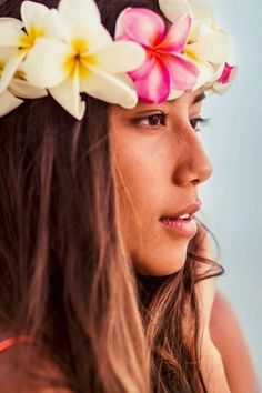 """Inspiration for Luna's Floral Uke -  The floral spray around the sound hole of Luna's 23"""" Floral Concert Ukulele includes Hibiscus and Plumeria. Hibiscus, the state flower of Hawaii, symbolizes delicate beauty and reminds us to seize the day. The Plumeria is a symbol of Spring and is therefore associated with birth and life."""