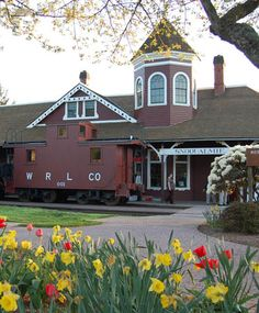Northwest Railway Museum-  Catch a train ride.  Santa rides available at Christmas, and Day Out With Thomas in the summer.