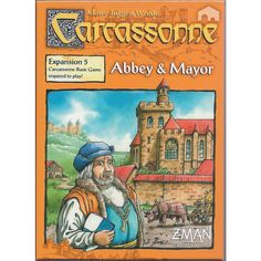 Carcassonne: Expansion - Abbey & Mayor
