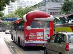 Singapore's Buses & Taxis -