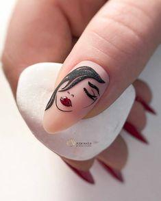 Nail Art Designs, Manicure Nail Designs, Manicure E Pedicure, Diy Nails, Swag Nails, Popular Nail Art, Popular Nail Designs, Rose Nail Art, New Nail Art