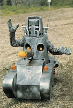 """monster from 1970s TV series """"Kikaider"""""""