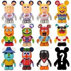 Disney Vinylmation Muppets 2 Series...    $11.95