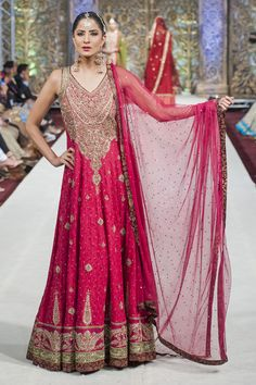 2014 PFW Zaheer Abbas Bridal Collection