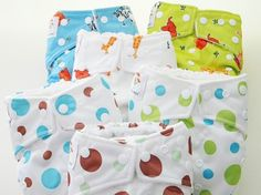 Kawaii Diapers - Goodnight Heavy Wetter One-Size Pocket Cloth Diaper, Free Shipping - try these first. cheaper