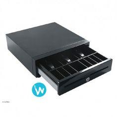 AURES propose ce tiroir caisse ouverture vers l'avant au format réduit, le 3S333. Ses dimensions réduites lui permettent d'être intégré partout.