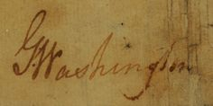 George Washington Signed Land Survey from 1752 - To be auctioned on June 13 at Brunk Auctions