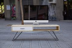 Mueble de TV - Crespo / Paletos.net | Muebles de palets reciclados hechos con mucho cariño. Muebles hechos con palets.