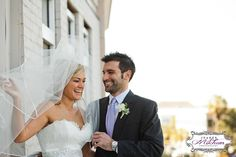 Charleston wedding | Downtown | Francis Marion balcony | First Look | Bride and Groom | wedding | Jeanne Mitchum Photography