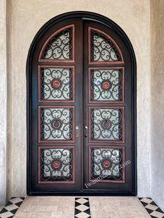 🧐🧐🧐 Great design, great development, and great business philosophy are the cornerstones of what sets Universal Iron Doors apart from others in today's wrought iron door industry! -- ☎️☎️☎️ Call 877-205-9418 for Orders and Inquiries ⚠️⚠️⚠️ About this Beautiful IRON DOOR: Madrid Double Entry Iron Door, Medium/Light Copper Finish, Right Hand Inswing. -- #irondoor #iwantthatdoor #wroughtirondoor #universalirondoors #ironfrontdoor #irondoorsnearme #irondoorcompany #cheapirondoor Iron Front Door, Wrought Iron Doors, Madrid, It Is Finished