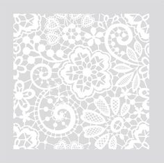 Small DIY Victorian Lace on your floor or Wall by bluedoor17, $30.00