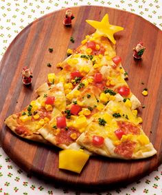 Christmas Tree Pizza ♪