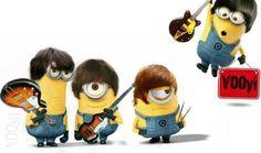The  Beatles Minions rock
