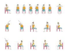 Printable Chair Yoga Routines For Seniors At Bristol  sc 1 st  Viewyoga.co | View Yoga \u0026 Workout & Chair Yoga Poses For Elderly | Viewyoga.co