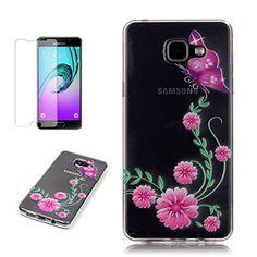 Yrisen 2in 1 Samsung Galaxy A5 2016 Hülle Silikon Schutzh…