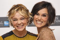 carrie mulligan and keira knightley