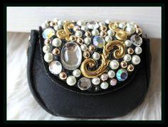 kleines Vintage Täschchen von *Coco Mademoiselle* auf DaWanda.com