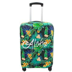 Luggage Cover,Pretty flamingo pattern Keeps Your Travel Suitcase Clean and Protects,Suitable for all models /… L 26-30 cover