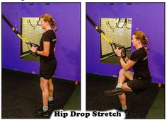 Suspension Stretch Gallery - Suspension Fitness & Beyond Stretches For Runners, Suspension Trainer, Stretch Bands, Workout For Beginners, Health And Wellness, Training, Activities, Guys, Concert