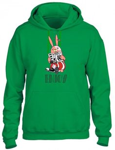 Bunny Hipster Hoodie