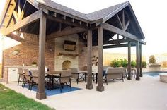 Image result for Rustic Pool Cabana Ideas