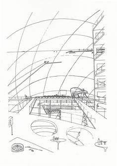 Rem Koolhaas #architecture #sketch