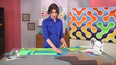 Finish your quilts with multi-color binding on Fresh Quilting with Sylvi...
