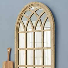 One Way Cathedral Wall Mirror for rustic or country style homes #rustic #affiliate