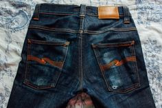 Fade of the Day - @nudiejeans  Tape Ted (11 Months, 3 Washes) Read: http://rwrdn.im/fotd-nudie-tape-ted