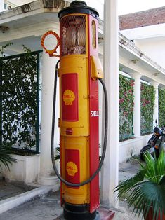 Old Shell Petrol Pump in India