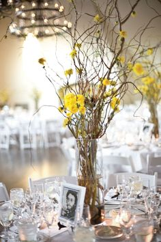 For this music-inspired reception, each table was named after a legendary musician