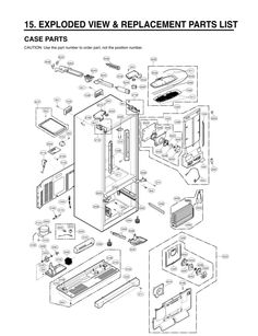 LG Washer LFX28978ST Parts List