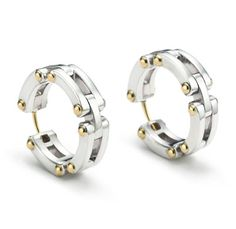 Tiffany and Co Axis Hoop Earrings _1452