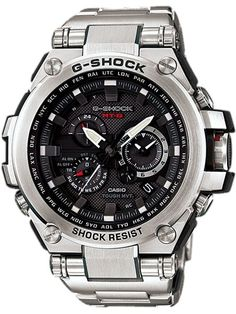 Shop men's and women's digital watches from G-SHOCK. G-SHOCK blends bold style with the most durable digital and analog-digital watches in the industry. Casio G-shock, Casio Watch, Casio G Shock Solar, Relogio Casio Edifice, Cool Watches, Watches For Men, Tag Watches, Triple G, Atomic Watch