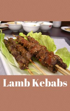 Tanya Holland used fresh ingredients to dress up marinated Lamb Kebabs, which she paired with a Tomato and Plum Salad on The Talk. http://www.foodus.com/the-talk-tanya-holland-lamb-kebabs-with-tomato-and-plum-salad-recipe/