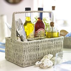 Rustic-Cutlery-Caddy - from Lakeland