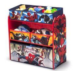 Spiderman Storage Spiderman Bedroom Ideas Http://wallartkids.com/spiderman  Themed