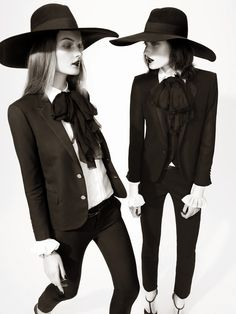 The Collections: Marikka Juhler And Kirsi Pyrhonen By Tom Allen For Uk Harper's Bazaar February 2013